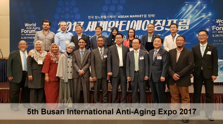Review 5th Busan International Anti-Aging Expo 2017