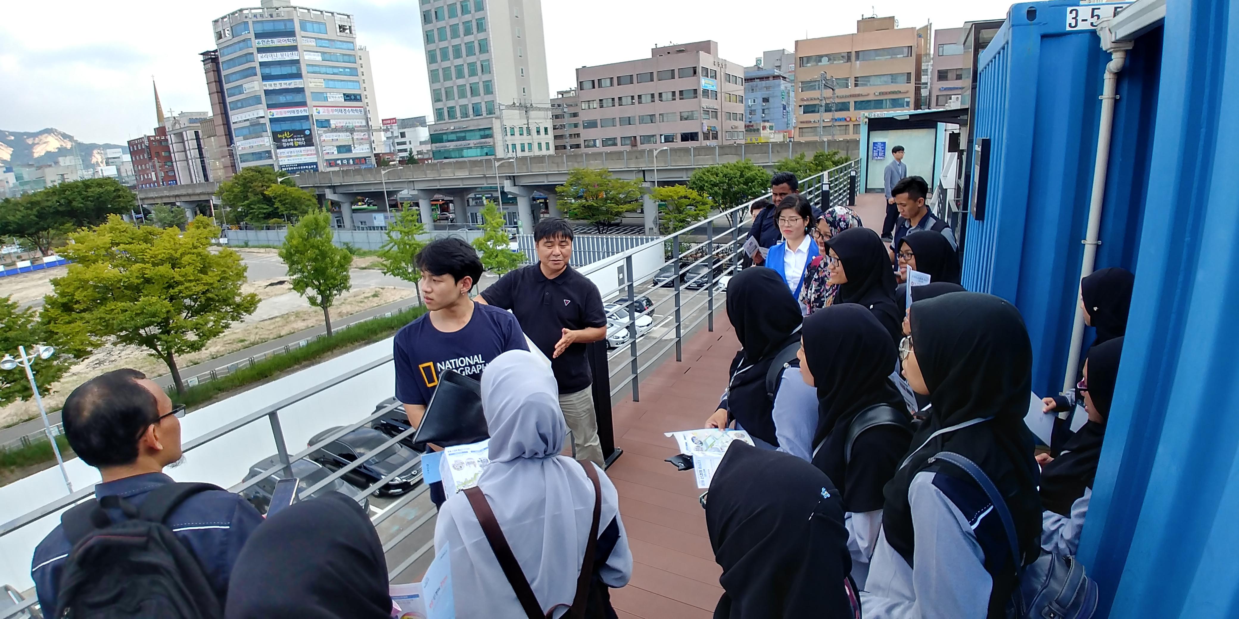 Malaysia Student Visit Seoul Education Tour
