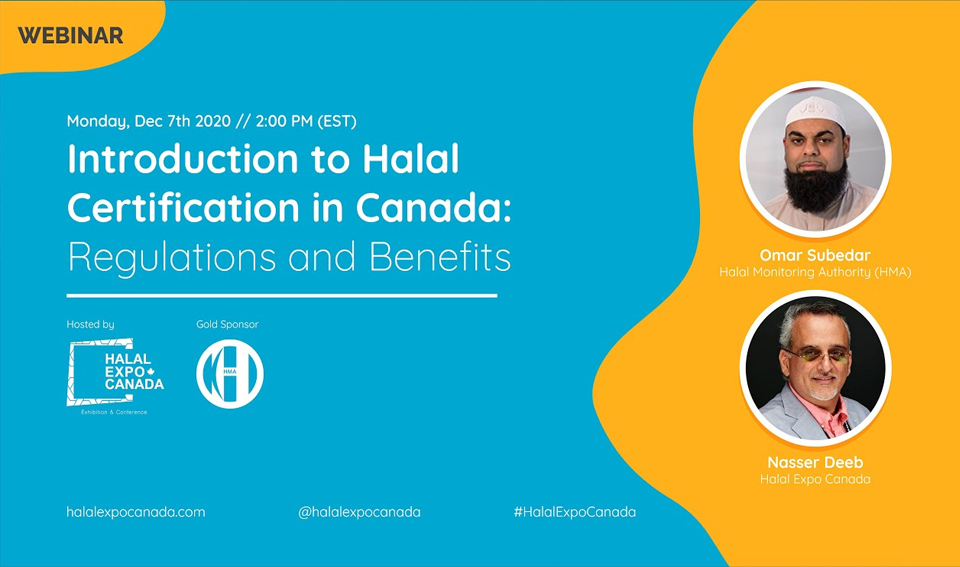 Introduction to Halal Certification in Canada: Regulations and Benefits – Halal Expo Canada 2021