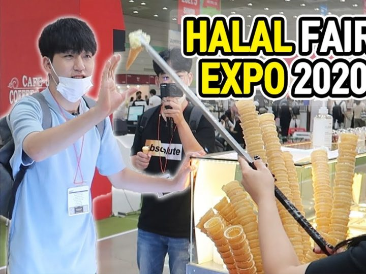 Visiting Halal Expo 2020 with Muslim friends?